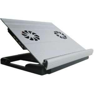 CS0304 Aluminum 17 Laptop Cooling Pad with 4 Ports USB