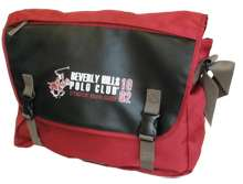Beverly Hills Polo Club Timekeeper Laptop Bag Red/Black
