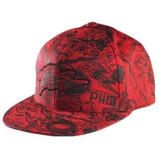 Mens Moto Cross MTB BMX Bike FLEX FIT Baseball Hat Cap Apparel