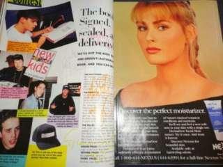 Seventeen 4/1991 Milla Jovovich Naomi Hewitt Couturier Shana Zadrick