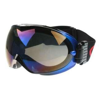 New Basto Anti Fog Dual Lens Sport Ski Snowboard Goggles Black Frame
