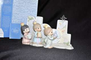 PRECIOUS MOMENTS Nativity Noel Three Wise Men NIB