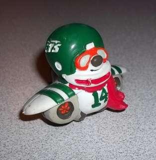 1983 NFL Huddles PVC Figure New York Jets Mascot RARE Tudor Games REX