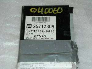 00 05 2001 Pontiac Bonneville Body Control Module BCM