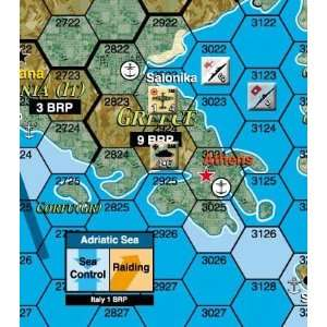 Third Reich Deluxe Map (Game)