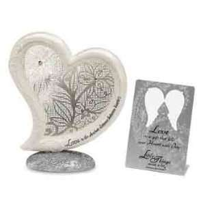 Pavilion Little Things Mean A Lot 74549 Love Heart Plaque