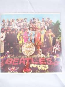 Beatles SGT PEPPERS LONELY HEARTS CLUB LP Sealed