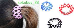 C5420 Fashion Beautiful Girls Nest Resin Ball Disk Hairpin