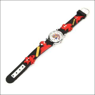 Spider Man Child boy Cartoon Wrist watch Toy Xmas ZZX01