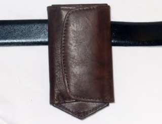 For Belt DK BROWN Leather 6 KEY HOLDER/WALLET New 1312 036982213121