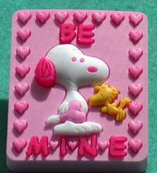 PEANUTS SNOOPY & WOODSTOCK BE MINE VALENTINE PIN