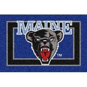 Maine Black Bears Bear Face 22 x 33 Team Door Mat