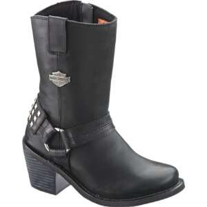 Harley Davidson Womens Mylie Boot   Black D85161
