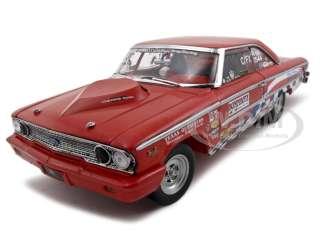1963 FORD GALAXIE 500 DIECAST CAR 1/18 TEXAS THUNDER
