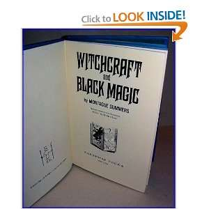 Witchcraft and Black Magic (9780810338074) Montague