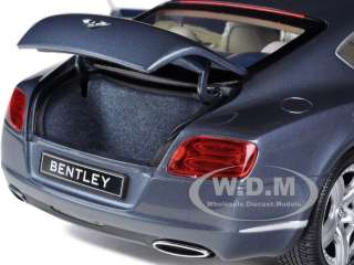 2011 BENTLEY CONTINENTAL GT COUPE METALLIC GREY 1/18 BY MINICHAMPS