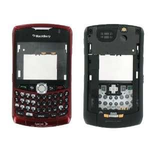 Sprint Red Burgundy OEM Original RIM Blackberry 8330 Curve