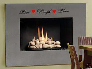 Live Laugh Love Wall Art Decal Decor Vinyl Quote Saying