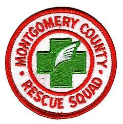 MONTGOMERY COUNTY, TENNESSEE RESCUE SQUAD PATCH
