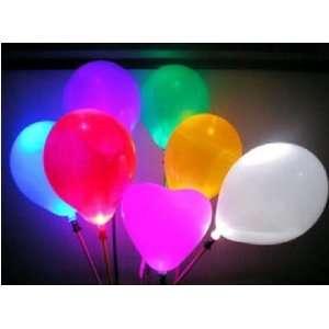 ems whole led balloon multi color latex blinking balloons light