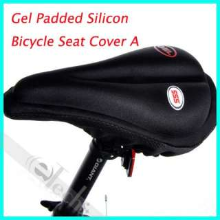New Gel Padded Thick Silicon Bike Bicycle Seat Cover
