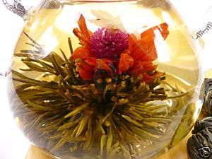 10 Blooming Flowering Flower Green Tea - Forever Love