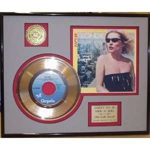 DEBBIE HARRY BLONDIE GOLD RECORD LIMITED EDITION DISPLAY