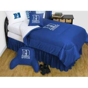 Duke Blue Devils Bedding   NCAA Comforter and Sheet Set
