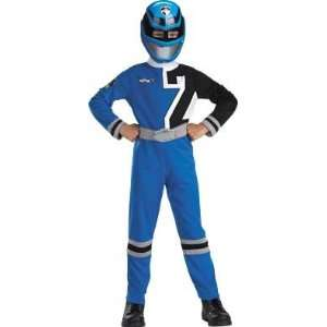 Blue Power Rangers SPD Standard Costume (Size 4 6): Toys