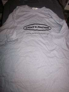 Light & Motion Bike Bicycle New Ride T Shirt Size L