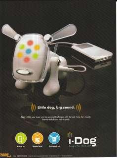 2005 TIGER ELECTRONICS I DOG Magazine Print Ad LITTLE DOG, BIG SOUND