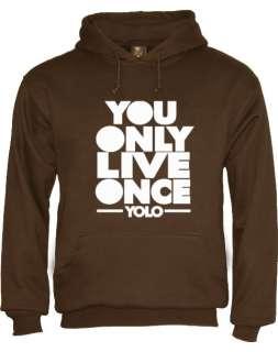 Yolo Hoodie you only live once take care ovo lil wayne drake ross