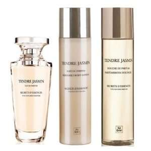 TENDRE JASMIN SECRETS DESSENCES Perfume 3 piece Gift Set Tendre