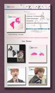 Korean DBSK Teentop Teen Top Bigbang drama SHINee Key Unicorn Earring
