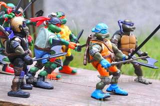 ORIGINAL TEENAGE MUTANT NINJA TURTLES 10 Figures Very rare