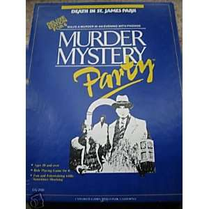 Murder Mystery Party (Death in St. James Park) Toys & Games
