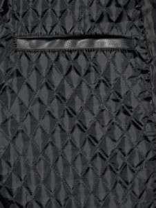 New BUFFALO By DAVID BITTON Mens Black Bomber Jacket Medium Size Faux