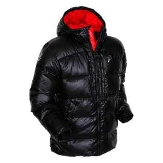 BJORN DAEHLIE black Morph down puff hooded jacket NICE US SKI TEAM