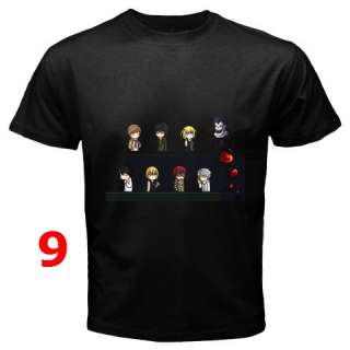 Death Note Collection T Shirt S 3XL   Assorted Style #2
