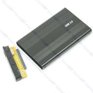 Black USB 2.0 Case Enclosure 2.5 Laptop IDE Hard Drive