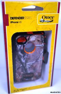Defender Case Cover for iPhone 4 4S Blazed AP Orange Camo FAST SHIP