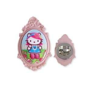 Tarina Tarantino Hello Kitty Pink Head Portrait Cameo Ring
