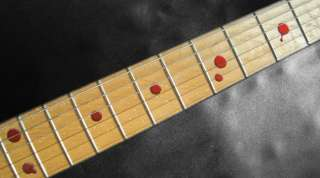 Bloody Dots Fret Markers Inlay Sticker Decal