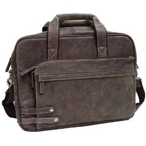 Executive Laywer 15 Laptop Distressed Briefcase Bag