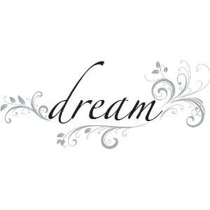 Pops WPQ96852 Peel & Stick Dream Quotes Wall Decals