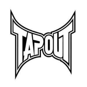 Tapout Decal   Tapout Logo 11  Automotive