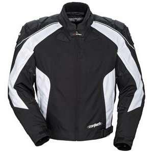 Cortech GX Sport Series 2 Black Motorcycle Jacket Tall