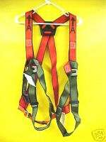 NEW FULL BODY HARNESS FP701 3D / XL by NORTH SAFETY