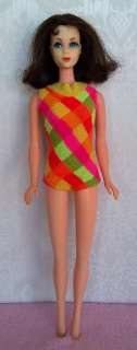 Vintage Barbie Twist N Turn MARLO FLIP doll 1966