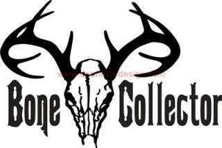 Bone Collector Hunting Skull Sticker/Decal